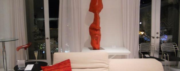 Exposition des sculptures monumentales dans la boutique Ligne Roset à Miami                                                      de Décembre 2012 à Avril 2013